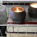Quiet black candles
