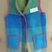GreenBlue Blanket Vest - Wool