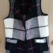 Black Blanket Vest Pockets - Wool