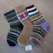 M-Socks Black Beige Multi